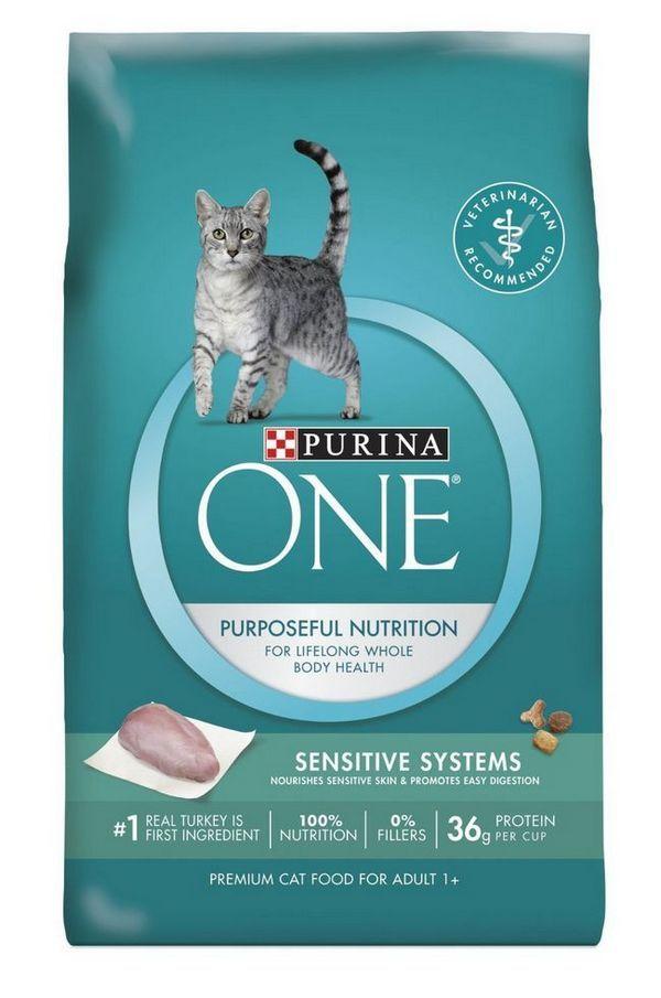 पुराण एक संवेदनशील सिस्टम वयस्क प्रीमियम बिल्ली भोजन