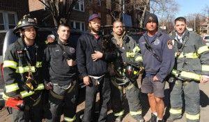 घातक आग के चार दिन बाद अग्निशामक बचाव बिल्ली